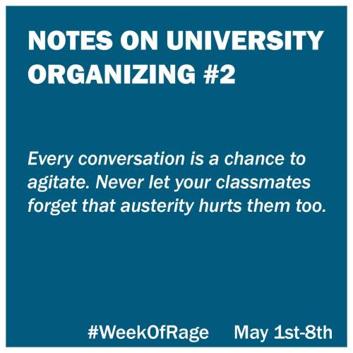 2 Notes on University Organizing